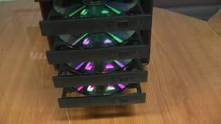 CD/ DVD Manual Tower Duplicator basic operation training demo