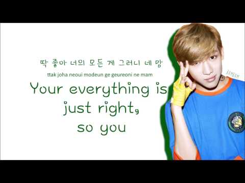 GOT7 - Just Right (Color Coded Lyrics: Hangul, Romaji, English)