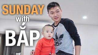 Buổi sáng vui vui với gia đình Na | Hana Giang Anh