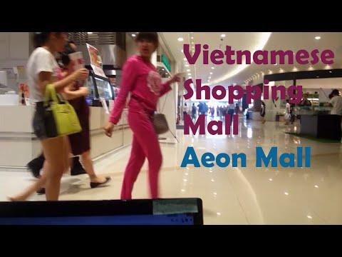 Visiting Aeon Mall vietnam - vietnam mall
