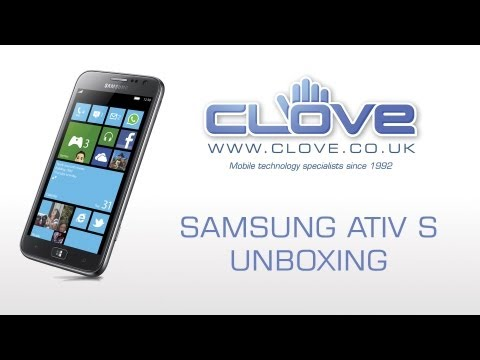 Samsung ATIV S (GT-I8750) Unboxing