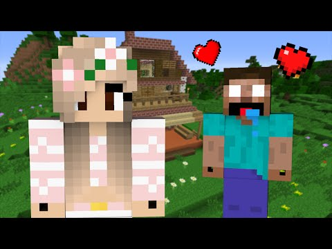 Thumbnail: If Herobrine fell in Love with a Girl - Minecraft