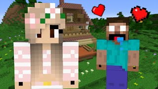 if herobrine fell in love with a girl minecraft