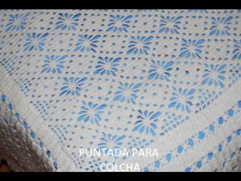 COLCHAS A CROCHET - YouTube