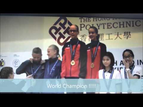 WK HONG KONG 2014 - Single Rope Pair Freestyle