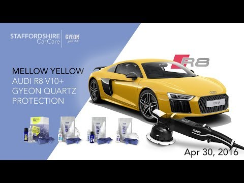 2017 Audi R8 V10 Plus Detailing And GYEN Quartz Protection