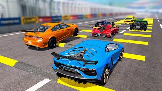 Sports Сar Racing Competition #1 - Beamng drive