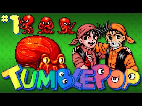 Tumblepop (Arcade) - Part 1: Crumbleflop - Octotiggy