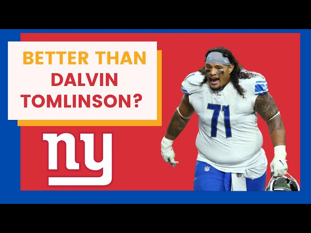 New York Giants Find Dalvin Tomlinson Replacement