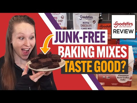 🍪 Foodstirs Review & Taste Test:  How Do These Organic & Keto-Friendly Baking Mixes Taste?