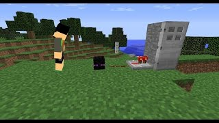 Enderman Head w/ one command! Emits redstone when looked at. [1.10]