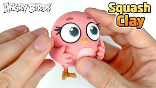 Squash Clay Makes Angry Birds STELLA