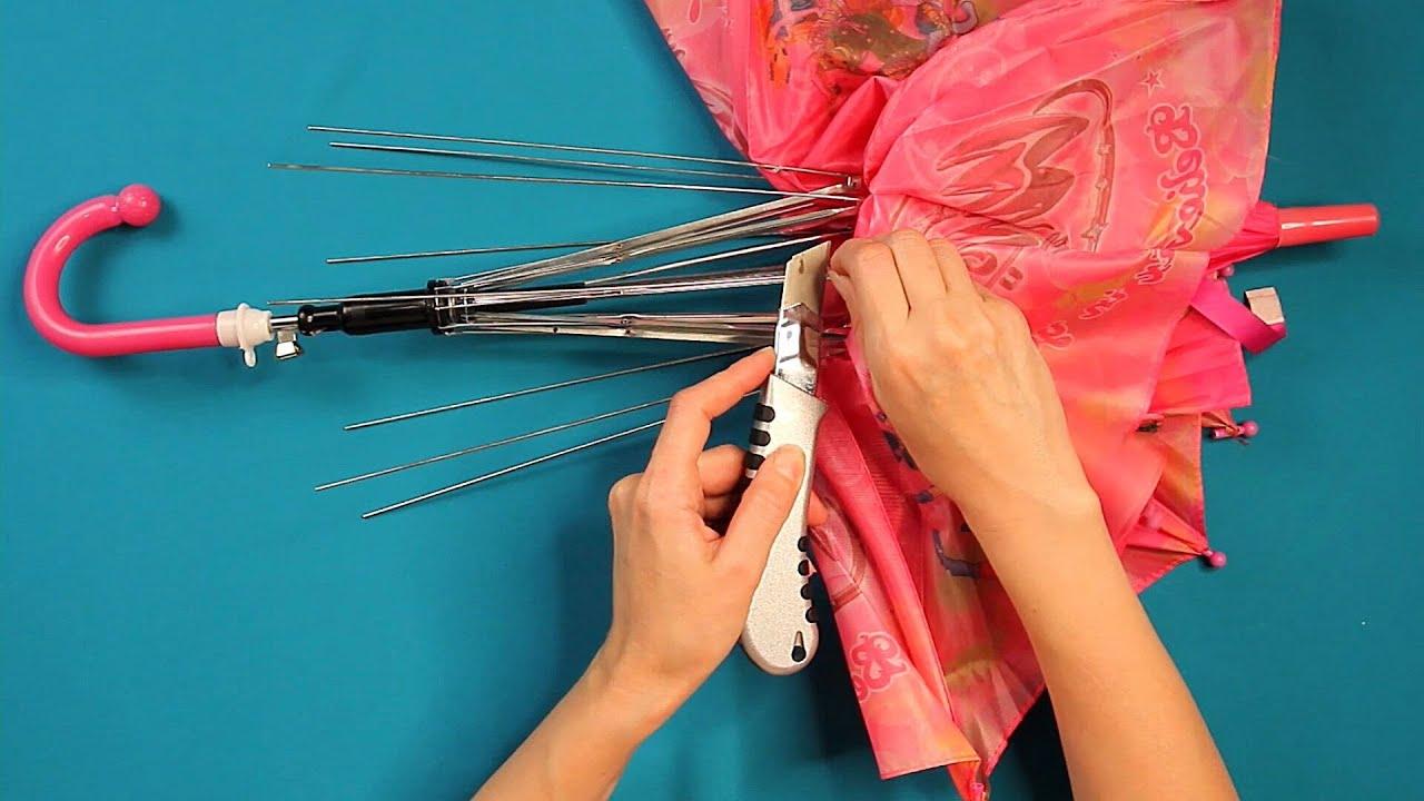 Idee de reciclare a umbrelei vechi. Nu o arunca, poți coase o haină minunată!| Perfect