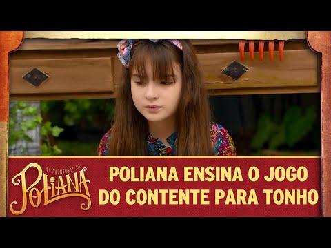 Poliana Ensina O Jogo Do Contente Para Antônio | As Aventuras De Poliana