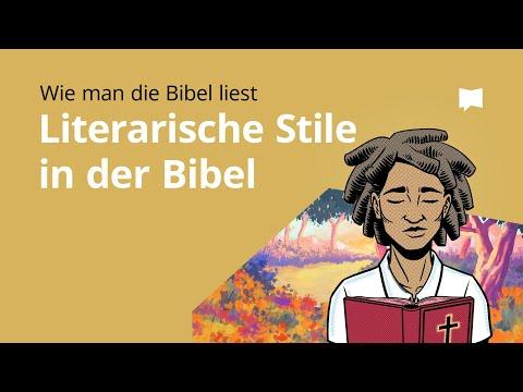 Wie man die Bibel liest: Literarische Stile in der Bibel
