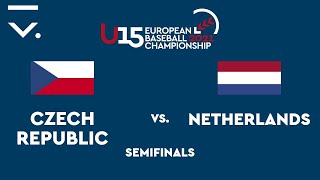 U15 European Championship 2021 Semifinals - Czech Republic Vs. Netherlands