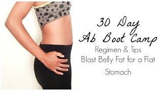 30 day ab challenge tips for blasting belly fat get a flat stomach fast and before and after pics