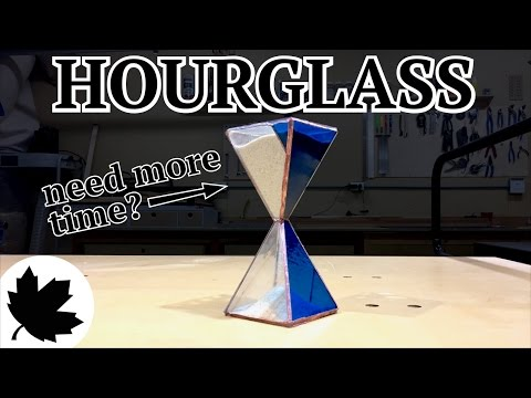 Make It - Stained Glass Hourglass