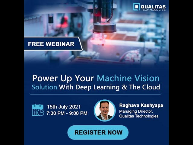 Power up your Machine Vision solution with the Deep Learning and the Cloud