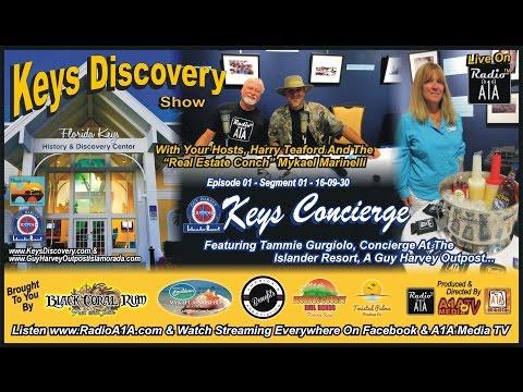 A1A Media / Radio A1A - Keys Discovery Show - ep01 - seg01-  Keys Concierge' - 09-30-16