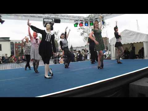 Skelton Hooper School of Dance Adult Tap Group - tap dances - Freedom Festival, Hull 6/9/14