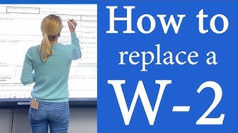How to get a W-2 IRS form W2.  What to do if your w2 is lost or missing in 2020