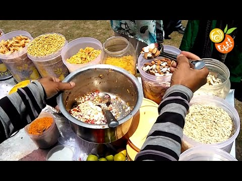 Bhel Puri (भेल पूरी) | Popular Indian Street Food | Spicy Snack Of India | Chamba - Khajjiar Special