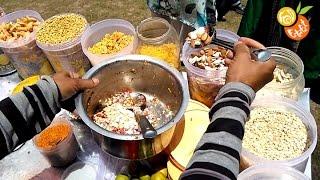 Bhel Puri (भेल पूरी)   Popular Indian Street Food   Spicy Snack Of India   Chamba - Khajjiar Special