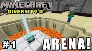 ARRANCAMOS JUNTANDO DIAMANTES! - ARENA - Viernes de Minecraft - DIVERSITY II #1