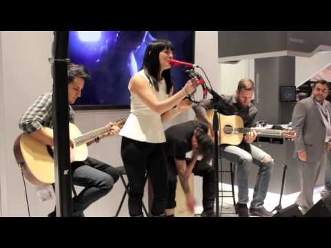 The Material - Life Vest - LIVE FROM NAMM 2013