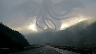 STRANGE FIGURE (CTHULU) CAPTURADED AT TORNADO IN MEXICO? JULY 11, 2015 (EXPLAINED)