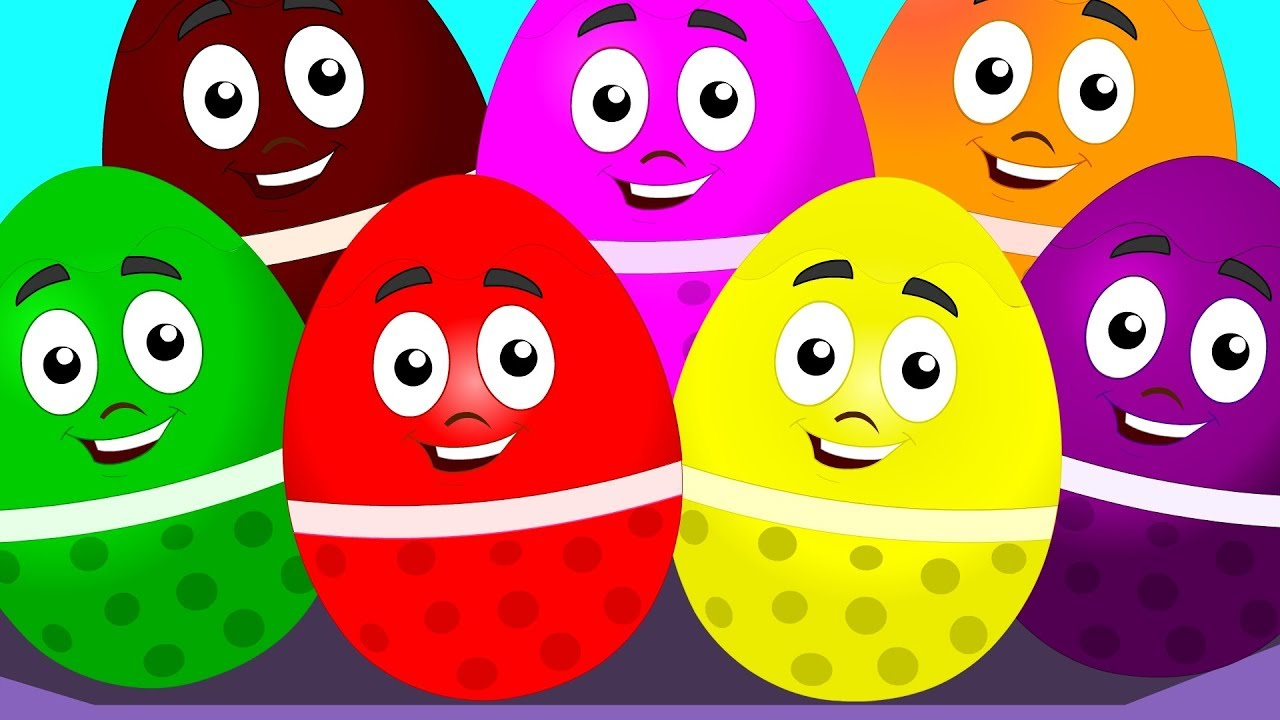 Download Learn Colors With Surprise Eggs Color Song For Kids Children Nursery Rhymes kids tv