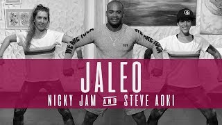 Jaleo - Nicky Jam X Steve Aoki -choreography dance video-zumba Video