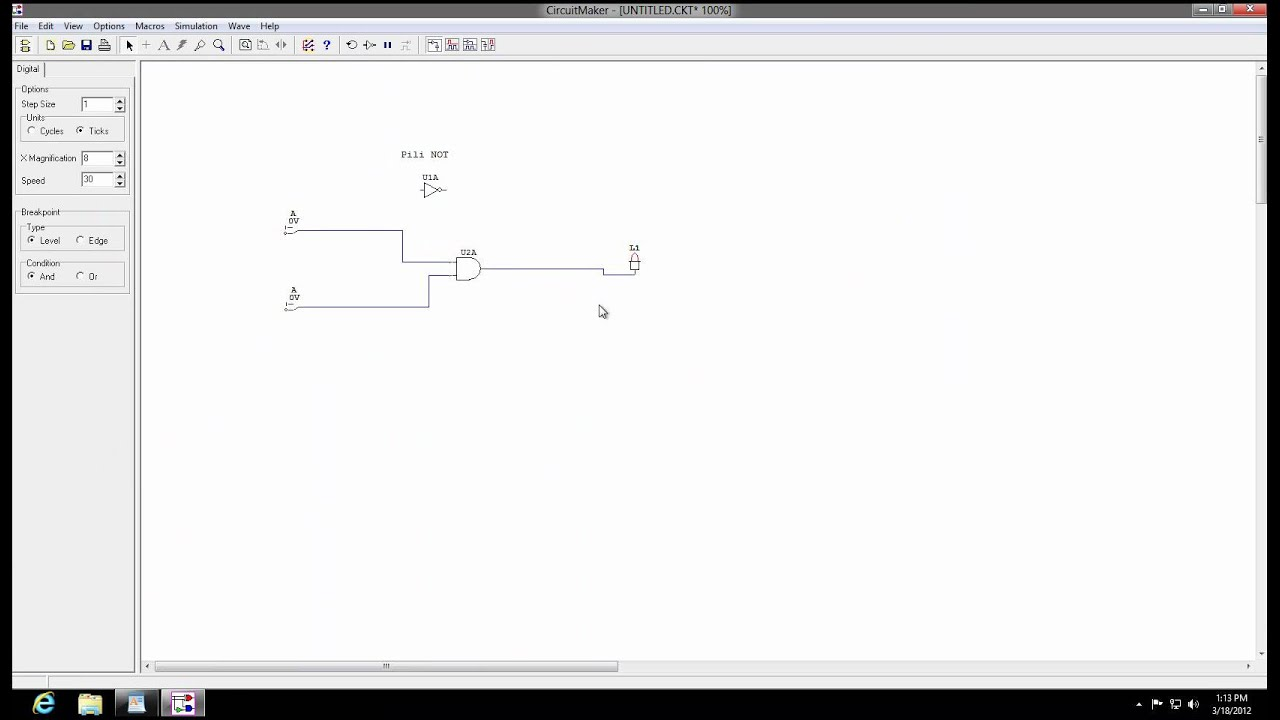 Circuit Maker 2000 How to use - YouTube
