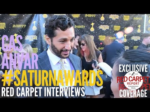 Cas Anvar #TheExpanse interviewed at the 43rd Annual Saturn Awards #SaturnAwards