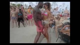 Dance Sex - Танцевальный секс белой с черным. Черный капитулировал!