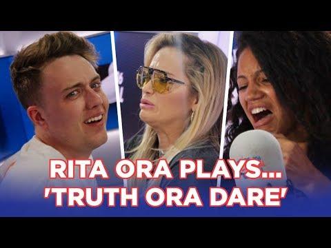 "Rita Ora plays ""Truth or Dare"" with Roman and Vick"