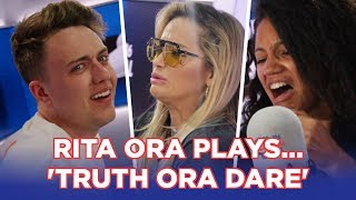 "Rita Ora plays ""Truth or Dare"" with Roman and Vick"