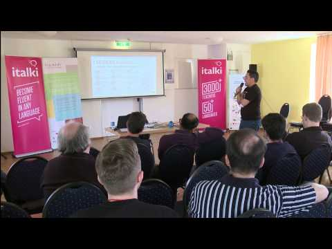 How to become a language blogger - Fabio Nogueira at the Polyglot Gathering 2015