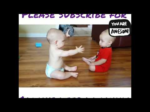 Best baby funny video to talk each other