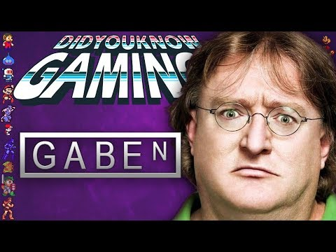 Gabe Newell: From Microsoft to Valve & VR - Did You Know Gaming? Feat. Furst