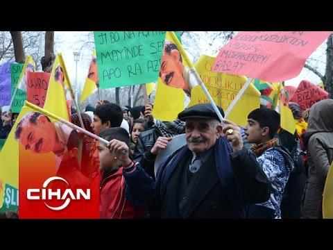 Gaziantep'te 'Öcalan'a özgürlük' eylemi