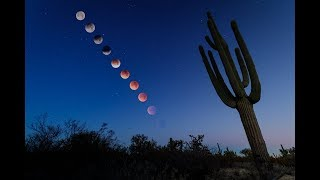 Lunar Eclipse 2018 - Timelapses from Tucson