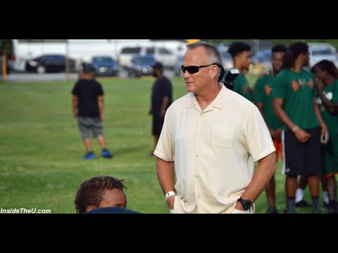 Mark Richt Tells Youngsters What He is Looking for at Miami