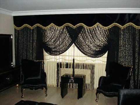 rideaux de luxe youtube. Black Bedroom Furniture Sets. Home Design Ideas