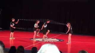 Double Dutch Pairs Freestyle- Matthew Nicole Graham and Morgan