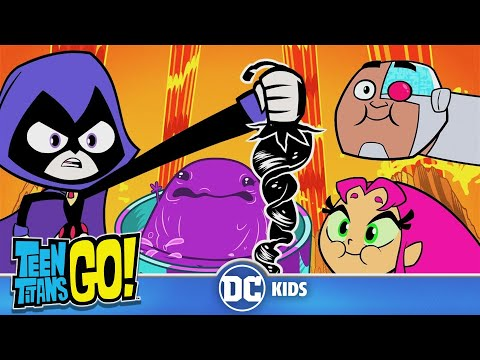Teen Titans Go! | Cooking With The Titans | DC Kids