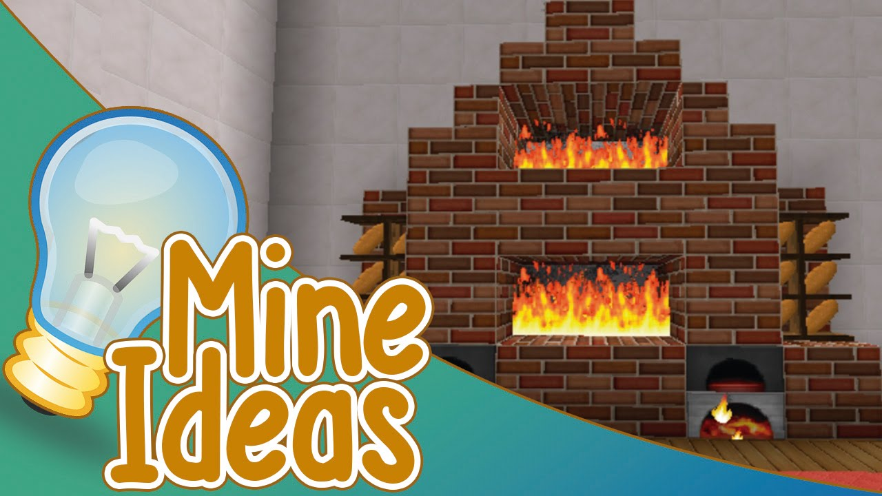 Mine ideas 6 dise os de chimeneas minecraft youtube - Chimenea de diseno ...