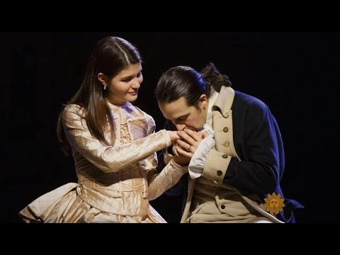 Hamilton: A founding father takes to the stage
