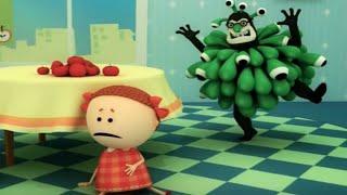 Аркадий Паровозов спешит на помощь -  Микробы - серия 15 - поучительные мультики детям